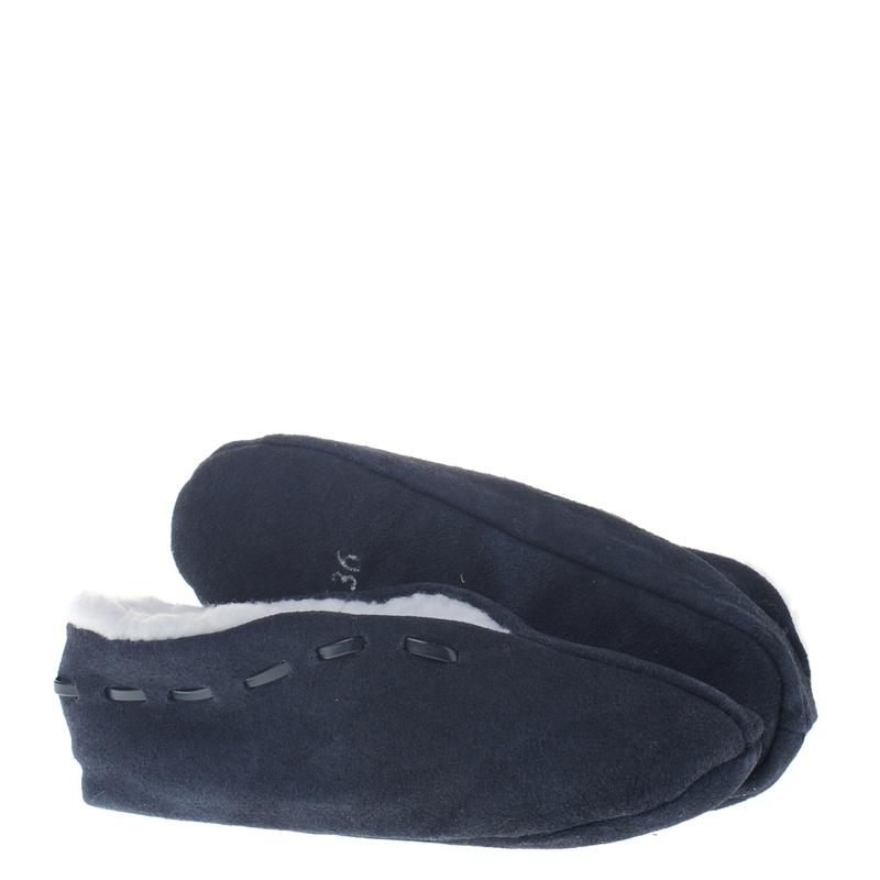 Hobb's Spaanse Slof - Pantoffels - Blauw