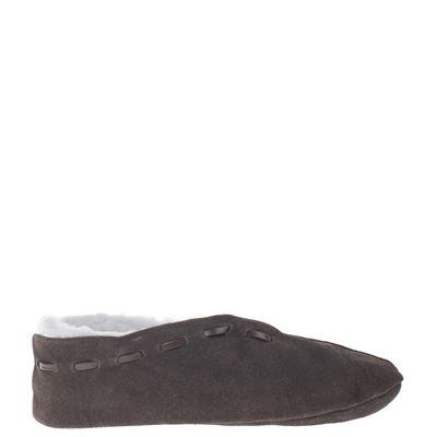 Hobb's unisex pantoffels bruin