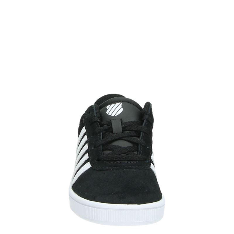 K-Swiss Boys Court Cheswick - Lage sneakers - Zwart