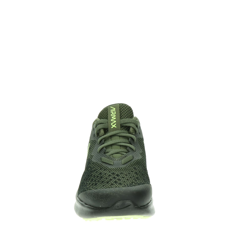 Nike Air Max Sequent jongens lage sneakers kaki