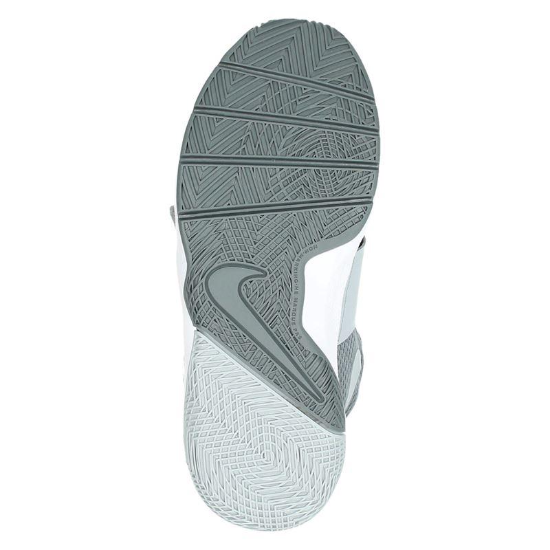 Nike Team hustle D8 - Lage sneakers - Grijs