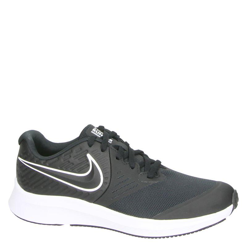 Nike Star Runner 2 - Lage sneakers - Zwart