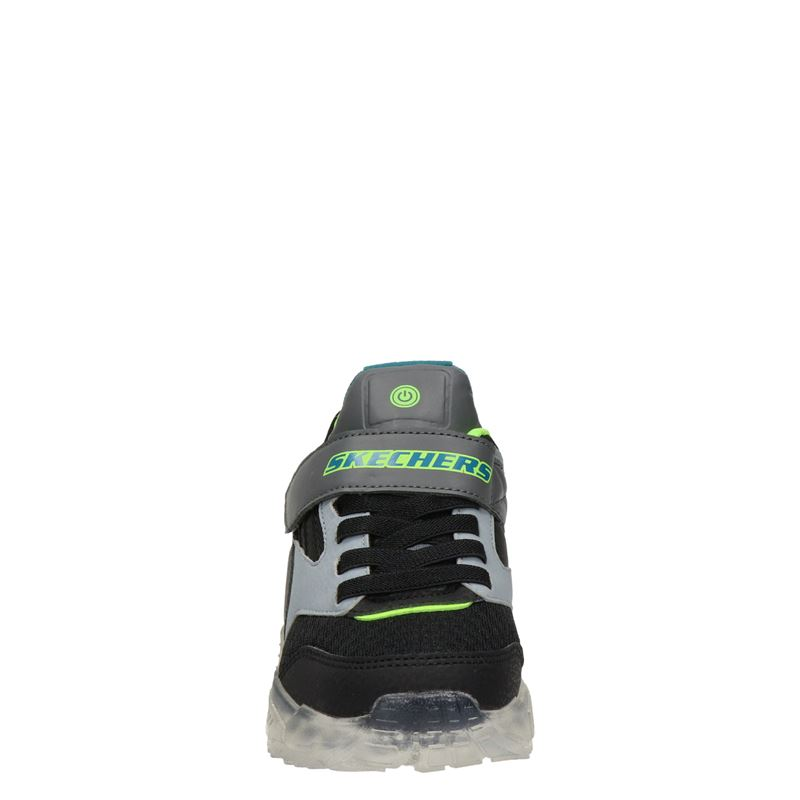 Skechers Ice Lights - Klittenbandschoenen - Grijs