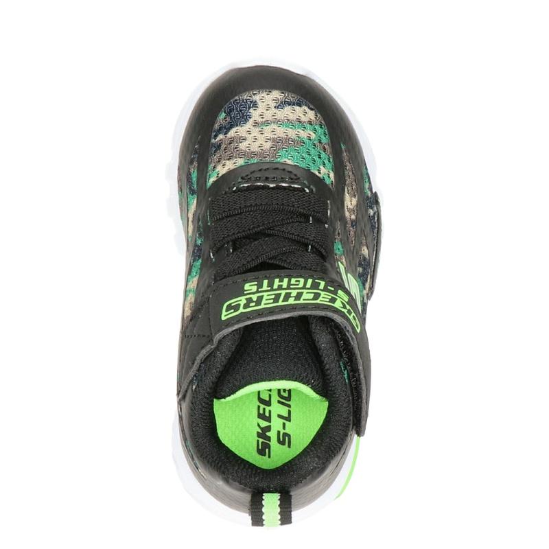 Skechers Camo Rondler - Klittenbandschoenen - Zwart