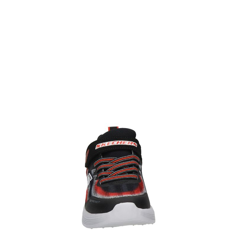 Skechers Skech-Air Dual - Klittenbandschoenen - Zwart
