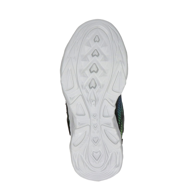 Skechers S-Lights - Klittenbandschoenen - Zwart