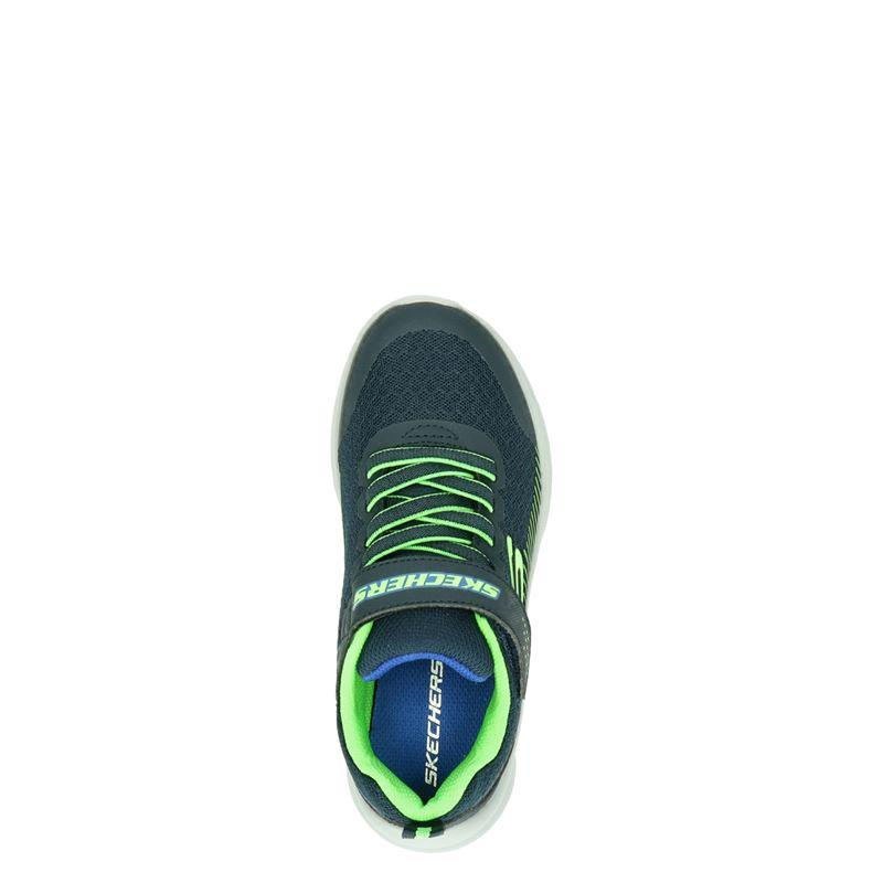 Skechers Microspec - Lage sneakers - Blauw