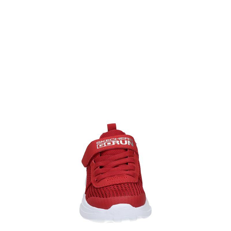 Skechers - Klittenbandschoenen - Rood