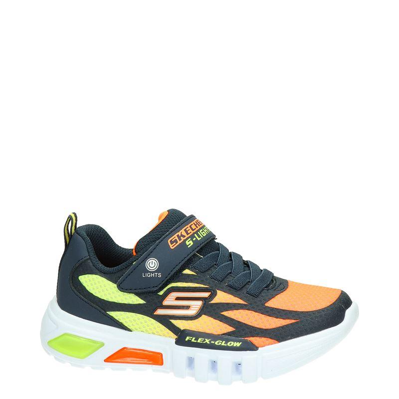 Skechers S-Lights - Klittenbandschoenen - Blauw