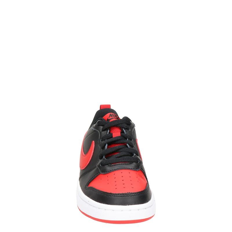 Nike Court Borough Low - Lage sneakers - Zwart