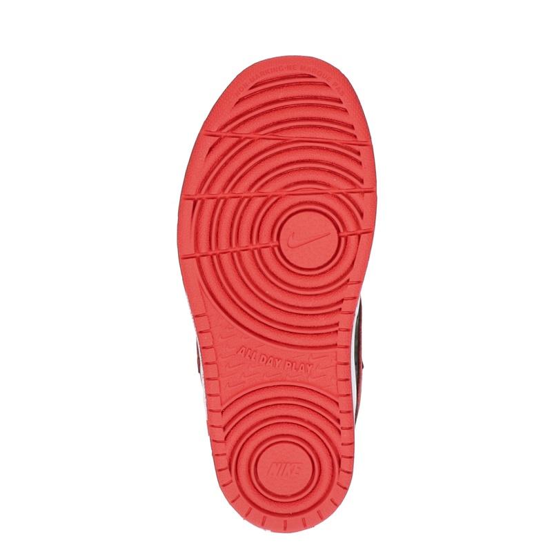 Nike Court Borough - Klittenbandschoenen - Zwart