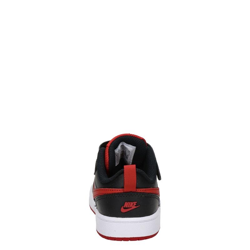 Nike Court Borough 2 - Klittenbandschoenen - Zwart