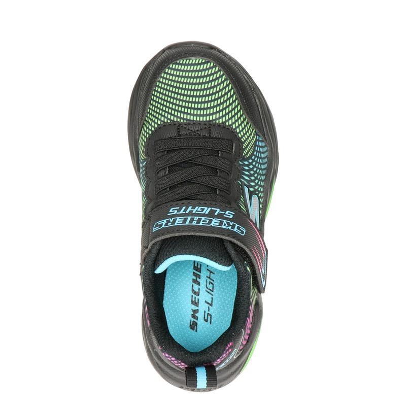 Skechers S-Light - Klittenbandschoenen - Zwart
