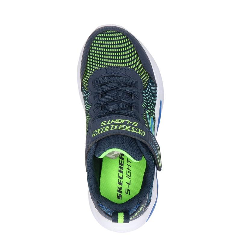 Skechers S-Light - Klittenbandschoenen - Blauw
