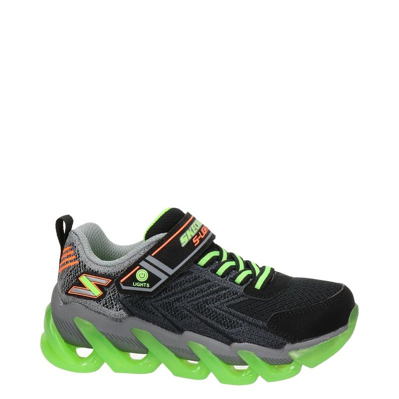 Skechers S-Lights - Lage sneakers - Zwart