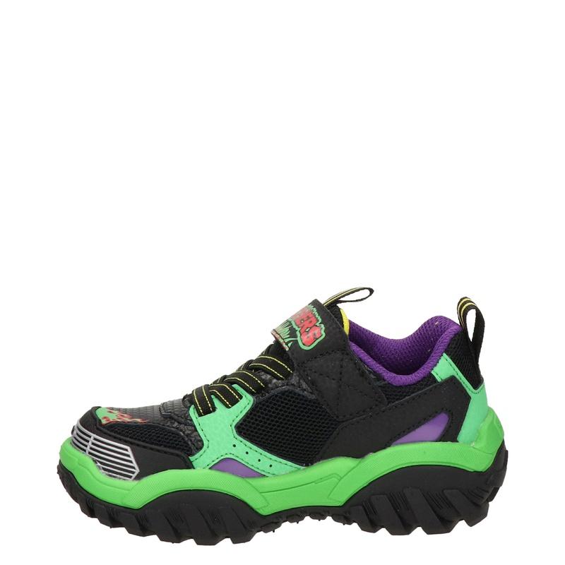 Skechers Turbo Speed - Klittenbandschoenen - Zwart