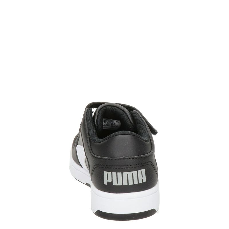 Puma Rebound Lay Up - Klittenbandschoenen - Zwart