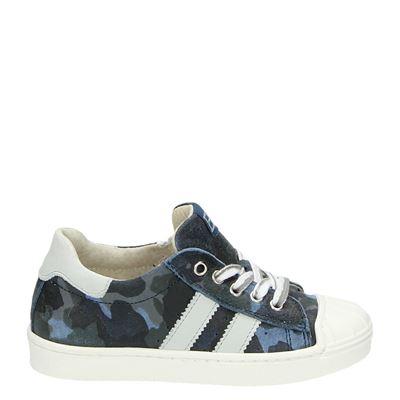 EB jongens lage sneakers blauw