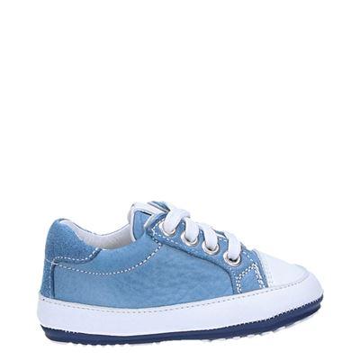 Jochie jongens babyschoenen blauw