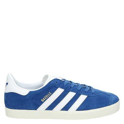Adidas Gazelle lage sneakers blauw