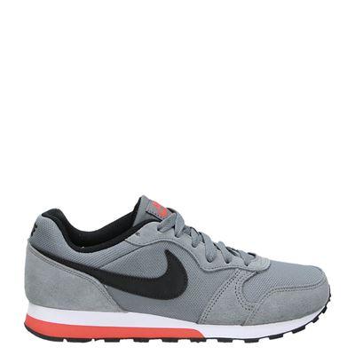 Nike jongens lage sneakers grijs