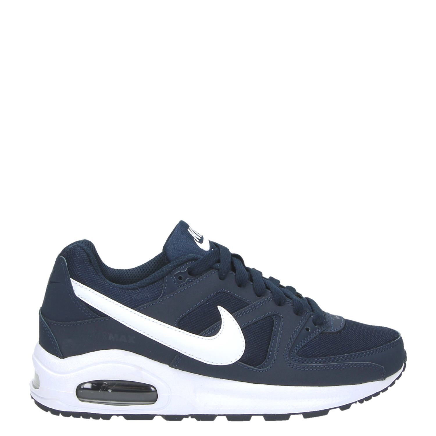 nike air max command jongens lage sneakers blauw. Black Bedroom Furniture Sets. Home Design Ideas