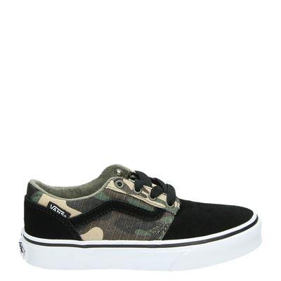 Vans jongens lage sneakers zwart