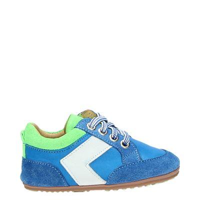 Jochie&Freaks jongens babyschoenen blauw