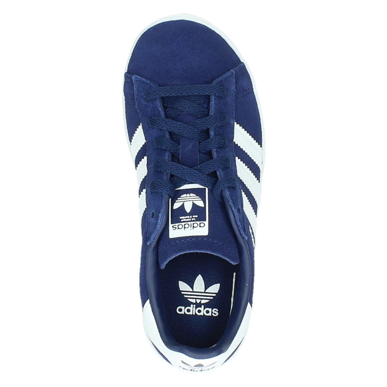 Adidas Campus jongens lage sneakers blauw