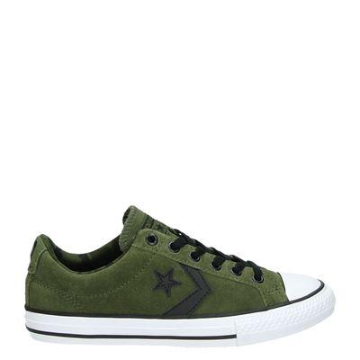 Converse jongens sneakers kaki
