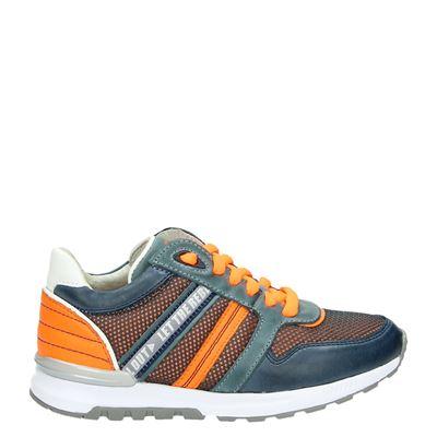 Orange Babies jongens sneakers blauw