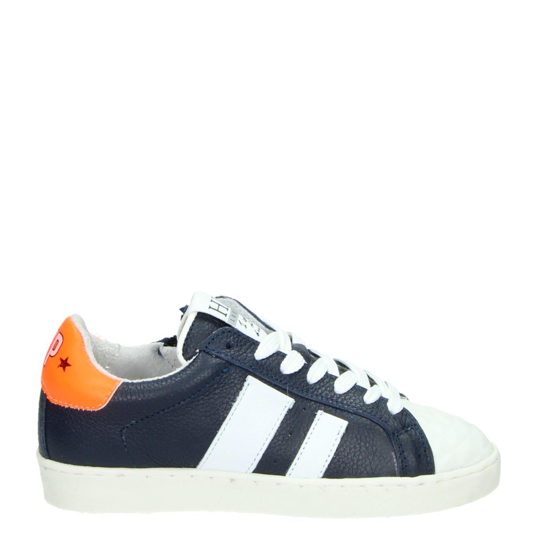 Hip Kinderschoenen.Hip Jongens Lage Sneakers Blauw