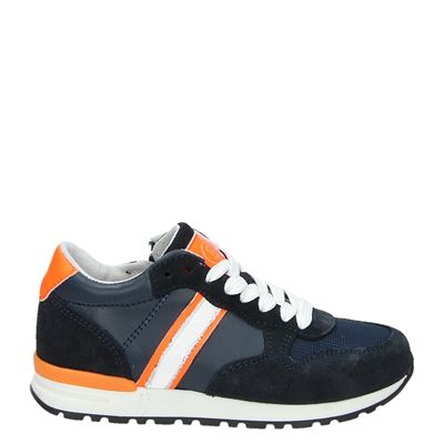 Orange Babies jongens sneakers blauw