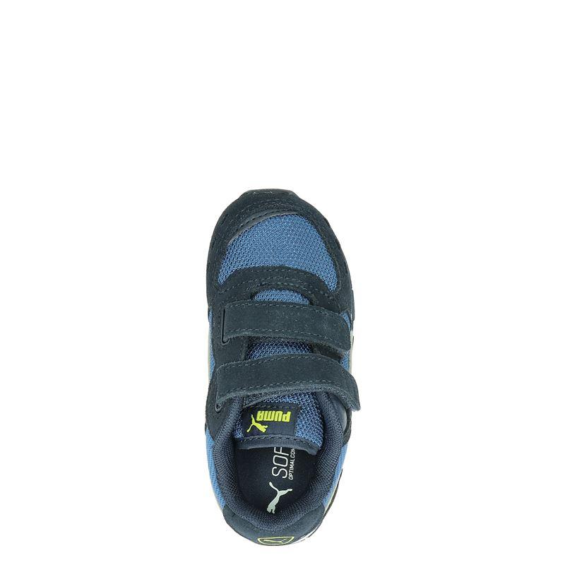Puma - Klittenbandschoenen - Blauw