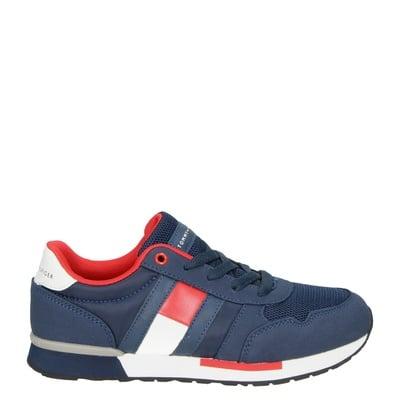 Tommy Hilfiger jongens sneakers blauw