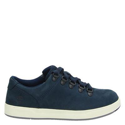 Timberland jongens lage sneakers blauw