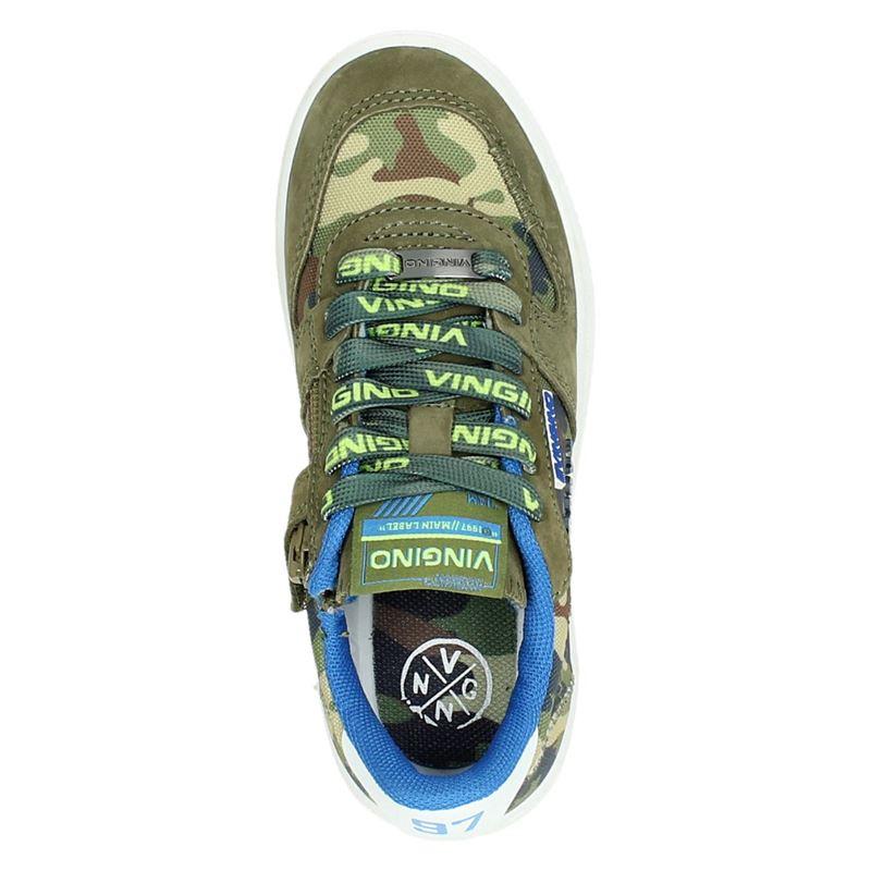 Vingino Yari - Lage sneakers - Groen