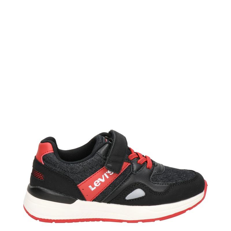 Levi's Boston - Klittenbandschoenen - Zwart