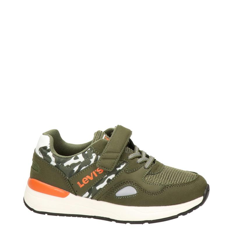 Levi's Boston - Lage sneakers - Groen