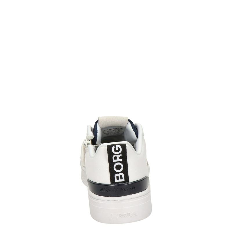 Bjorn Borg T1060 LGO K - Lage sneakers - Wit