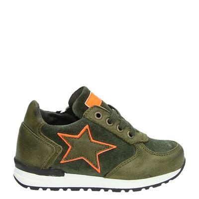 Pinocchio jongens sneakers groen