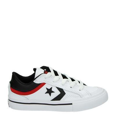 Converse jongens sneakers wit