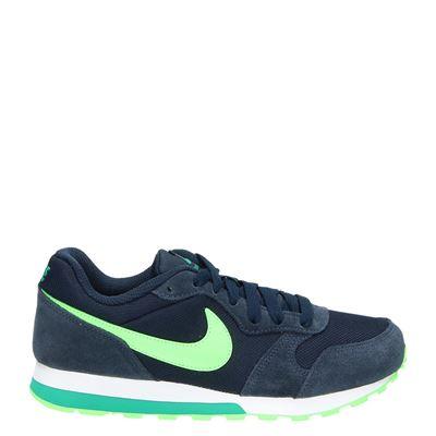 Nike jongens lage sneakers blauw