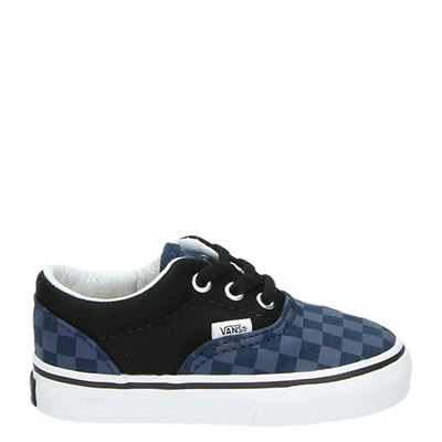 Vans jongens lage sneakers blauw