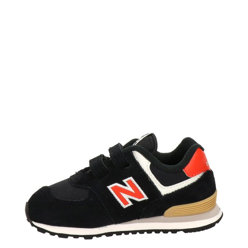 New Balance 574 - Klittenbandschoenen - Zwart