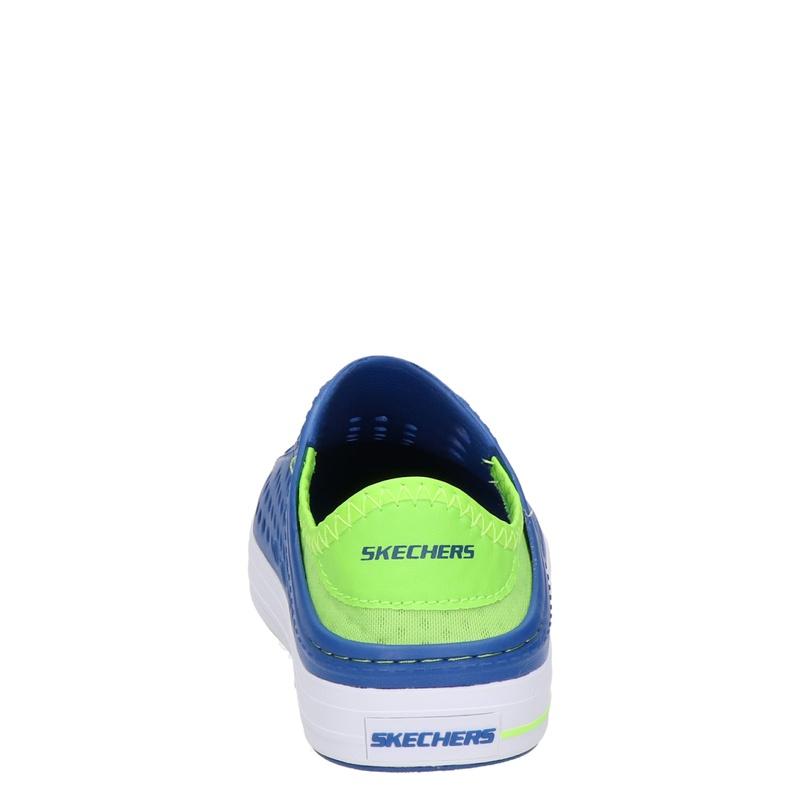 Skechers Aqua Surge - Instapschoenen - Blauw