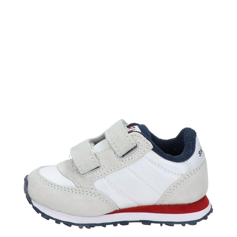 Skechers Retro - Klittenbandschoenen - Wit