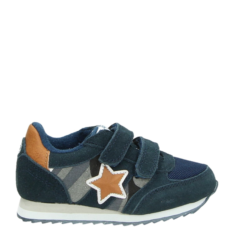 f080ab01f0f Orange Babies jongens lage sneakers blauw