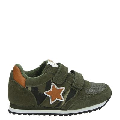 Orange Babies jongens sneakers kaki