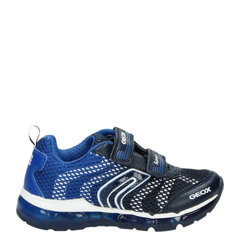 Geox jongens lage sneakers blauw